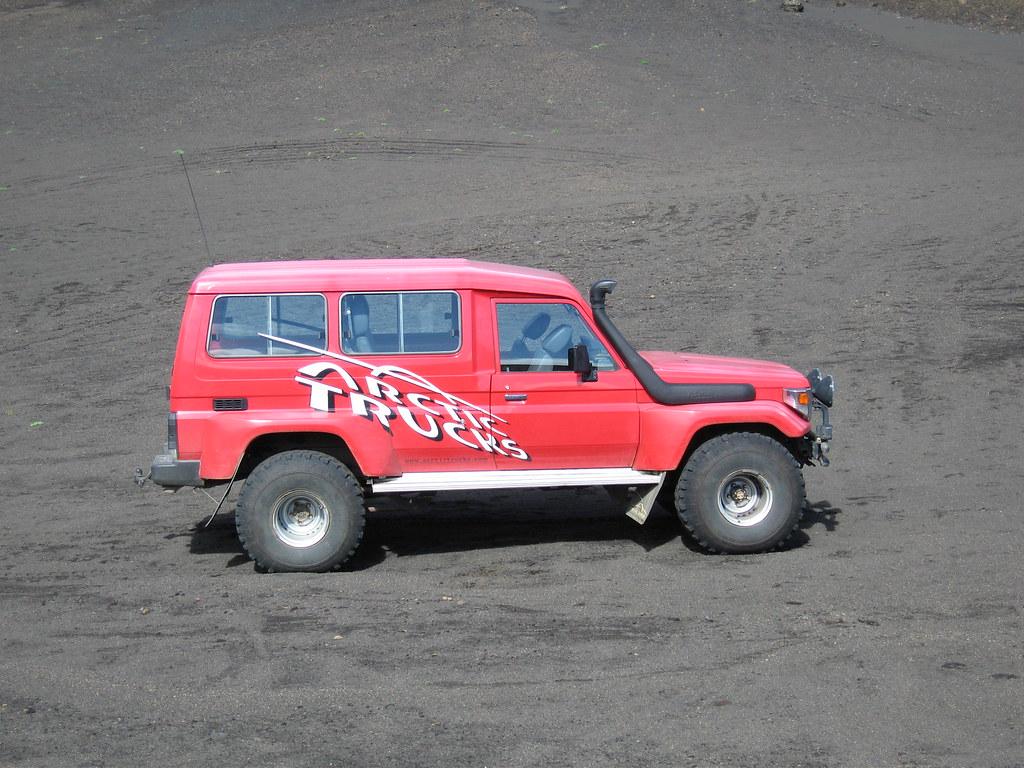 Toyota Land Cruiser Arctic Truck | Beautiful ! seen near Mt.… | Flickr