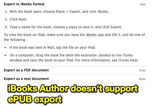 how to export a pdf from ibooks