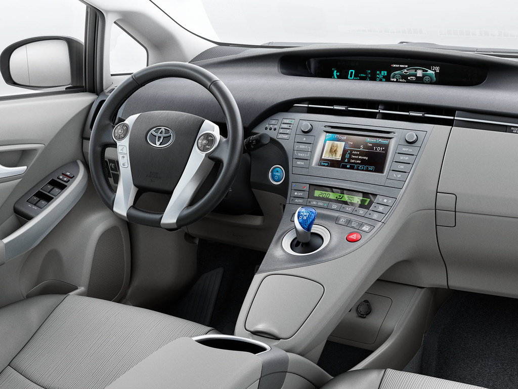 Awesome ... Toyota Prius 2012 Interior | By Toyota Motor Europe
