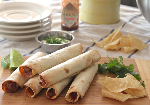 Baked Chicken and Cheese Taquitos ~ Perfect Party Food! | by Carolyn McCaffrey Stalnaker