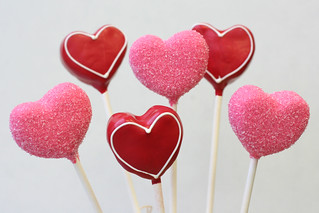Valentine's designs - hearts | by Sweet Lauren Cakes