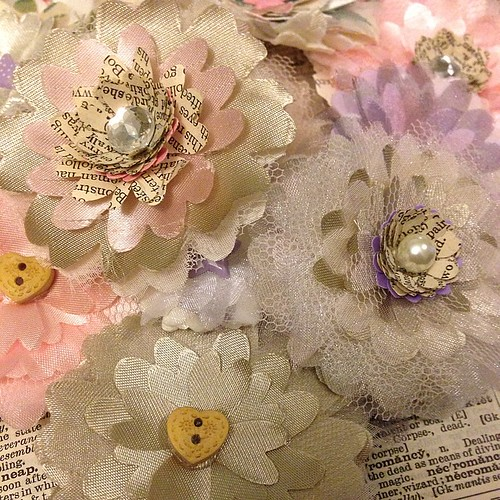 Pearls Craft Paper Flower Template