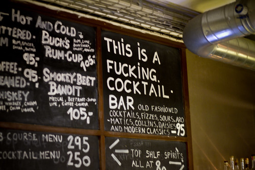 This is a Fucking Cocktail Bar | by Mikael Colville-Andersen
