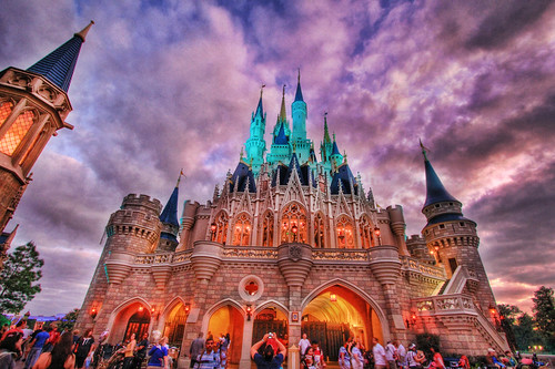 The Castle at Dusk | by Samantha Decker