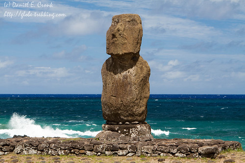 Moai sentinel | by dereizigercronk