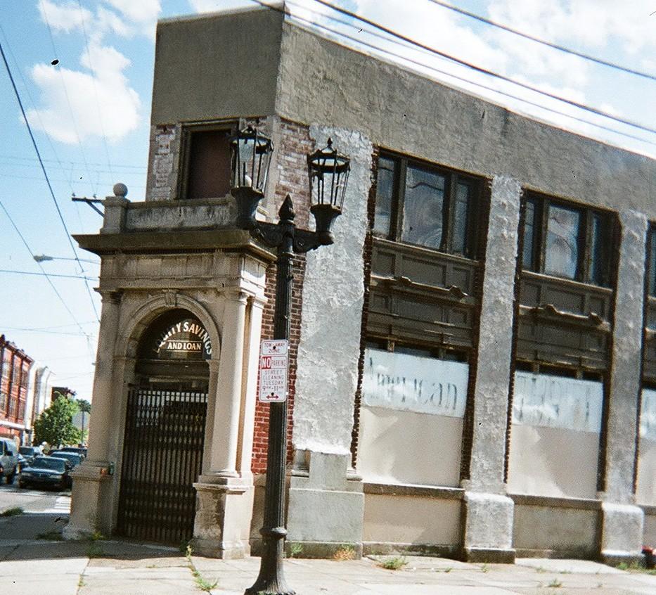 ... Equity Savings and Loan, Seventh, Wolf, and Moyamensing, Philadelphia, 2011 -