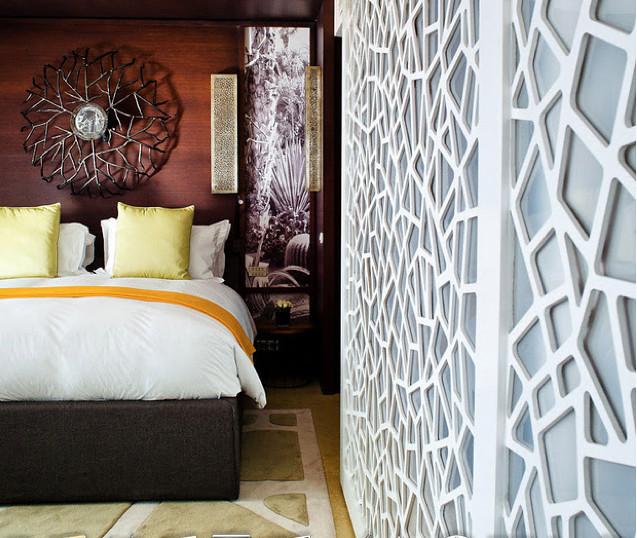 Porte coulissante ajourée SDB | Sofitel Luxury Mogador Essao… | Flickr
