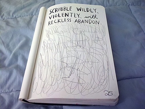 Wreck This Journal: Scribble widely, violently, with reckless abandon. | by JossArden
