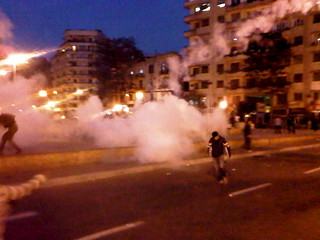 Tear Gas in Tahrir - Jan25 2011 | by Gigi Ibrahim