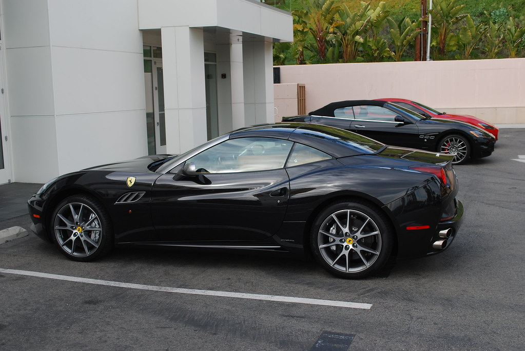 Ferrari california black