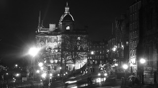 Bank of Scotland building at night 02 | by byronv2