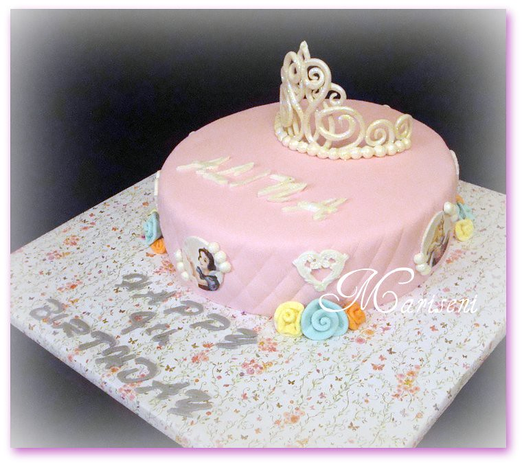 Disney Princess Birthday Cake Join Us On Facebook Sl Flickr