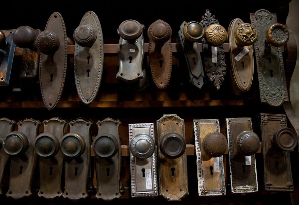 Fascinating Old Doorknobs. | Fantastic architectural salvage… | Flickr