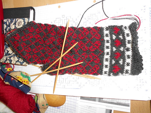 how to make lattvian mittens 3 | by rotkraut.c.r