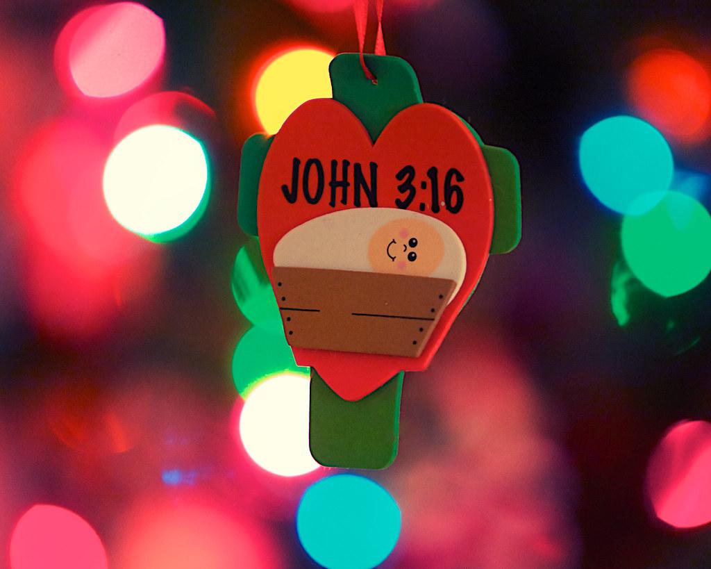 Christmas\' Gift   John 3:16 (chapter 3, verse 16 of the Gosp…   Flickr