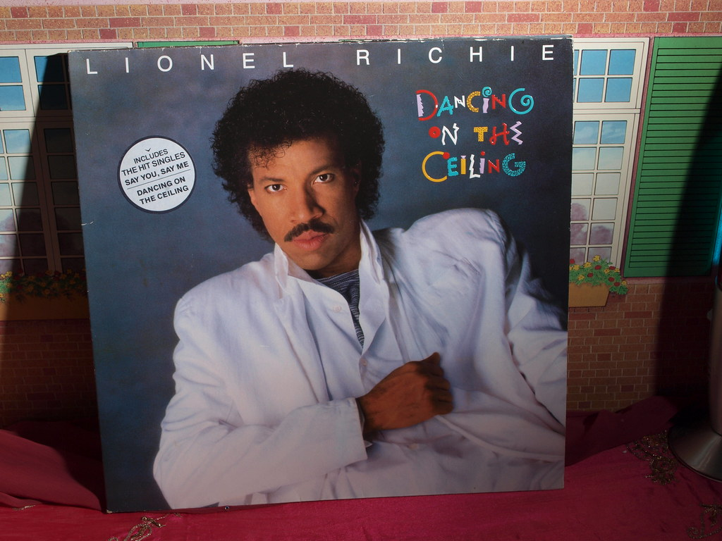 ... Lionel Richie, Dancing On The Ceiling,., | By Badgreeb RECORDS   Art