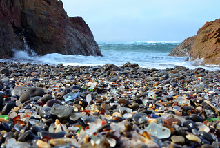 Beach of glass... on Glass Beach | by Images by John 'K'