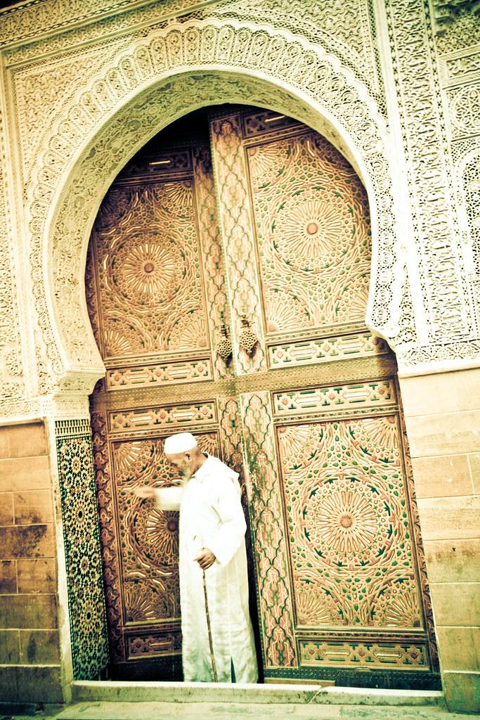 ... Fez Mosque Door   By Umbreen Hafeez
