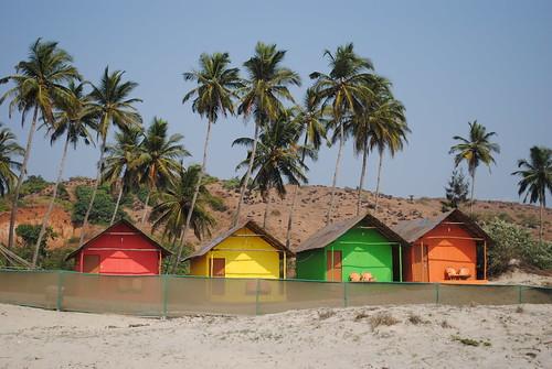 Colourful Beach Houses Melbourne