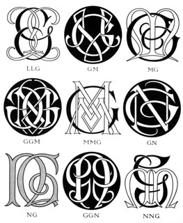 Monograms & ciphers ([1906]) | by CircaSassy