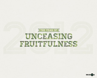2012: Year of Unceasing Fruitfulness [Version:green] (1280x1024) | by lizzaeh