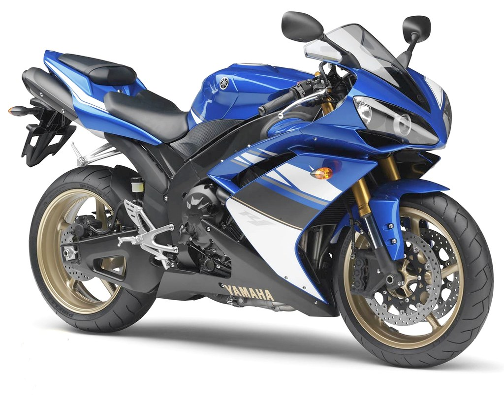 2007-2008 YZF-R1 Blue-White Right-Hand-Front   YAMAHA.Motorc…   Flickr