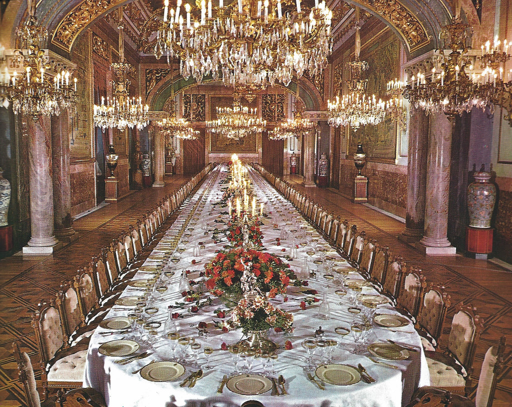 ... The State Dining Room At Royal Palace Of Madrid Spain | By Mbell1975