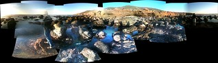 Stitched Panoramic: Tide Pools | by yougrowgirl