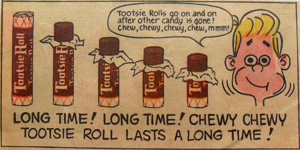 tootsie roll vintage