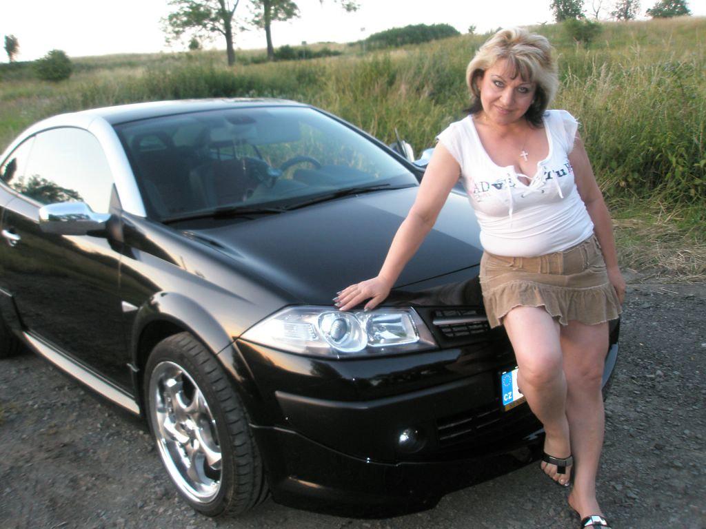the car mature In