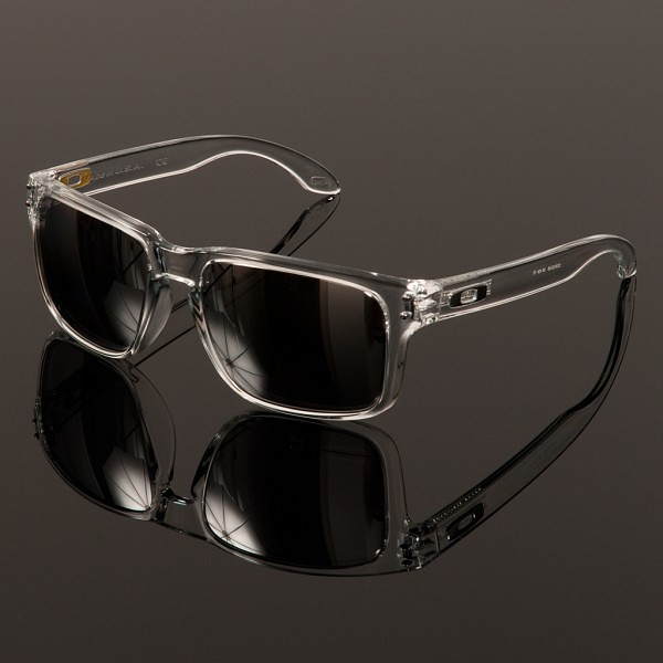 prescription oakley holbrook 822u  oakley holbrook polished clear