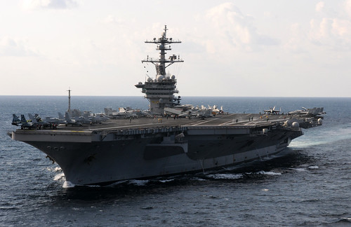 USS Carl Vinson is underway in the Arabian Sea. | by Official U.S. Navy Imagery