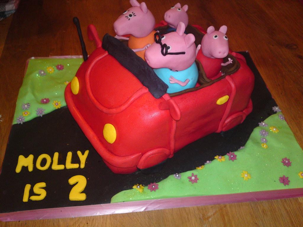 Peppa Pig Car Cake Joanne Flickr