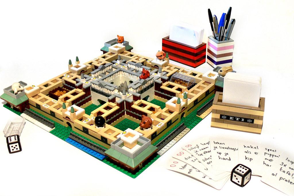 Lego Bordspel Met Handleiding Lego Board Game With Instr Flickr