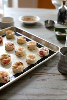 tiny strawberry cream scones | by joy the baker