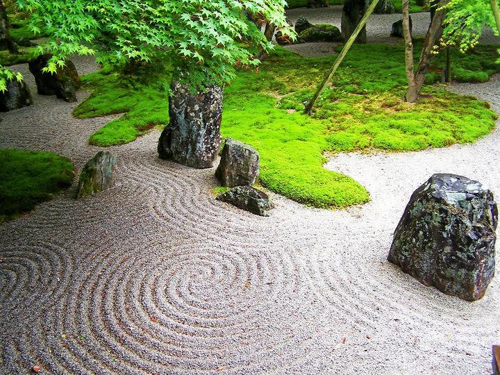 Jardin Zen jardín zen | tomado de mattclendon.wordpress | el circulo