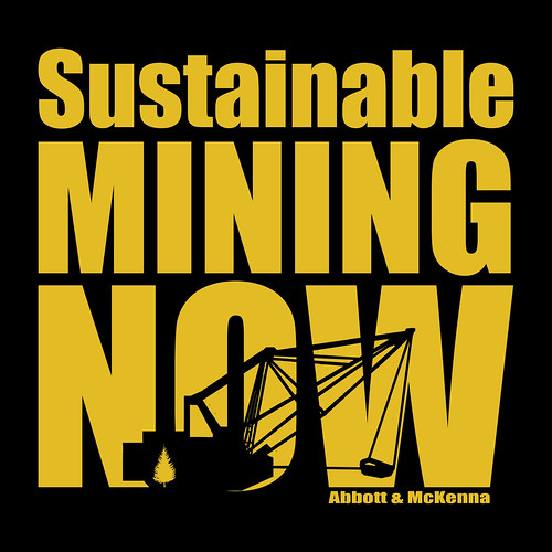 Sustainable Mining Now Book cover 2011 | by Gord McKenna