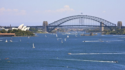 Postcard View of Sydney Harbour | by Alex E. Proimos