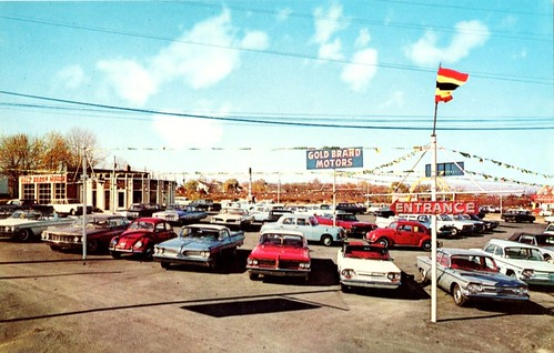 Gold Brand Motors, Levittown, PA, 1960s | by aldenjewell