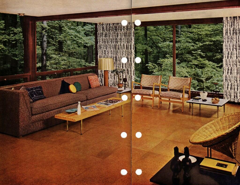 Mid Century Modern flooring | 1956 edition, Better Homes \u0026 G\u2026 | Flickr