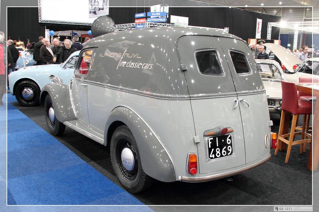 1939 - 1953 Lancia Ardea Furgoncino (02) | The Lancia Ardea … | Flickr