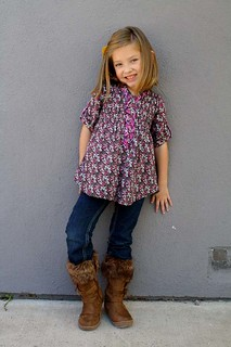 These Boots are Made for Walking - Sear's Children's Boots Review | by Trisha B Designs