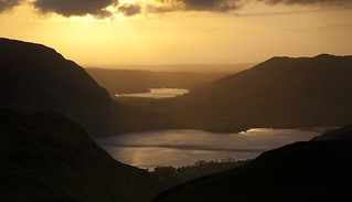 Sunset over Crummock Water and Loweswater | by Nick Landells