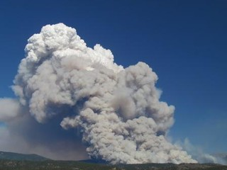 Pacheco Fire - 40000 Foot Echotop Smoke Column on 6/25 | by NM Fire Info