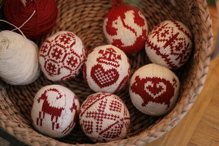 christmas balls | by postscript love