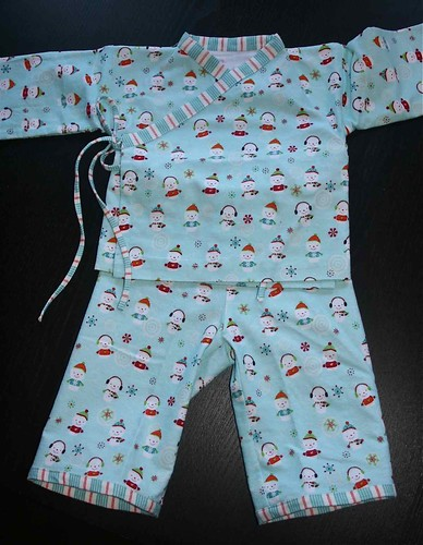 O + S Bedtime Story PJs (6-12 months) | by nightknitter