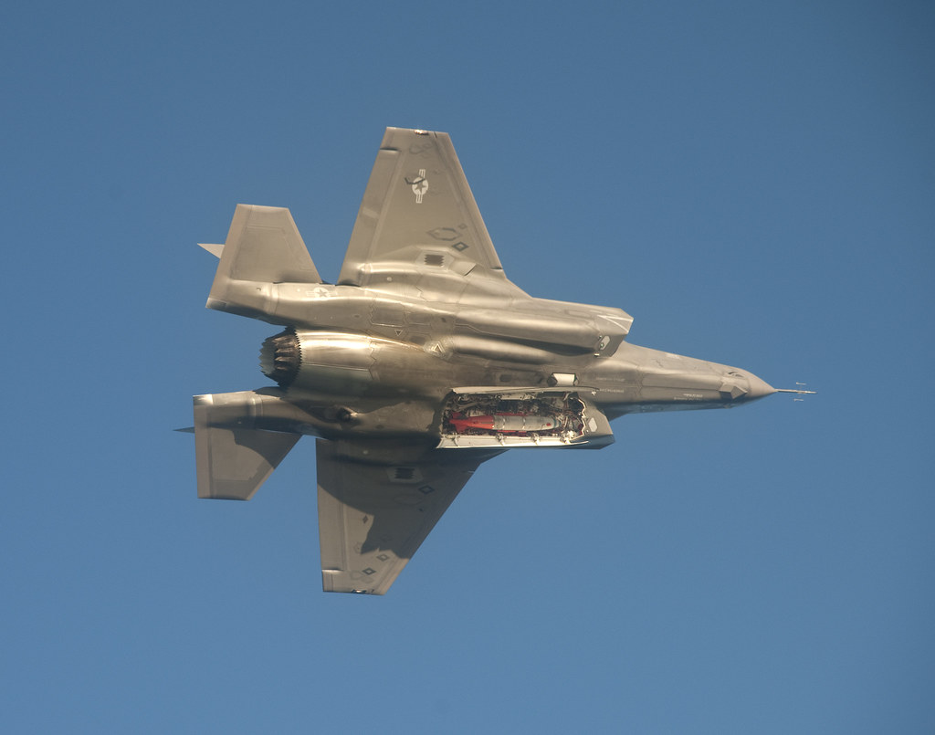 ... F-35B with Weapon Bay Doors Open | by Lockheed Martin & F-35B with Weapon Bay Doors Open | F-35B test aircraft BF-3 \u2026 | Flickr