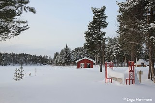 typical Swedish - red timber house | by Herrmaennchen