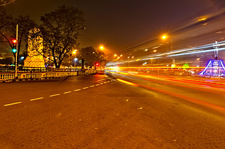 Light Wall At Red Road - Kolkata | by Chiradeep.