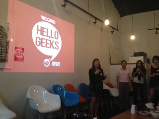 Hello Geeks introduction speech by Joyce | by knipucitis